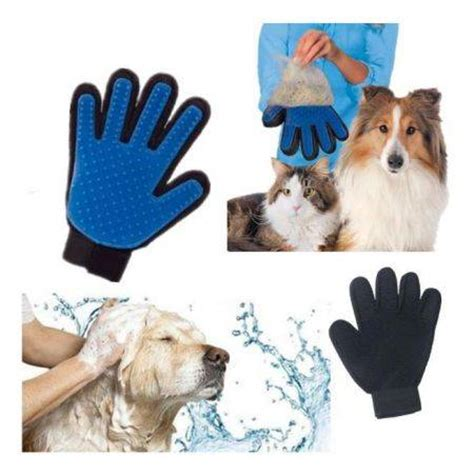 silicone dogs silicone true touch glove for pet grooming dogs bath pet supplies sales