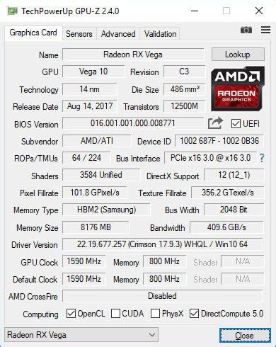 le comptoire du hardware tutoriel passer sa rx vega56 en presque rx vega64 le
