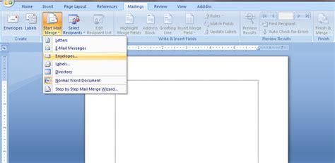 cara membuat novel di ms word cara membuat amplop di microsoft word blogger pemula