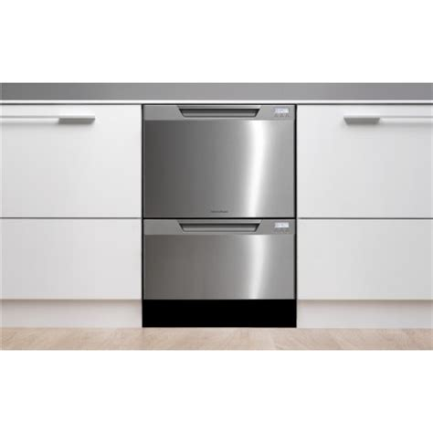 double drawer dishwasher fisher paykel dishdrawer dd24dctx6v2 semi integrated