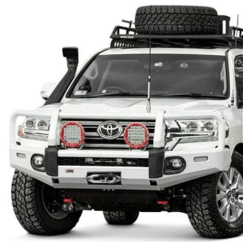 2017 toyota land cruiser custom 4x4 off road steel bumpers