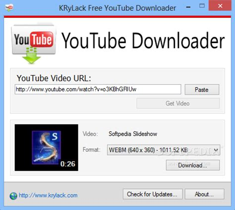 download youtube url krylack free youtube downloader download