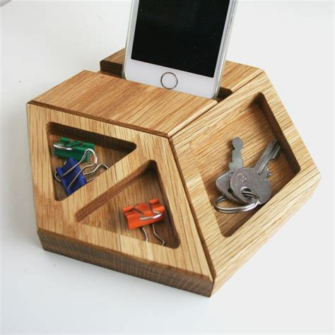 Modern Desk Tidy Solid Oak Modular Hexagon Desk Tidy Solid Oak Desk Desk Tidy And Contemporary Desk