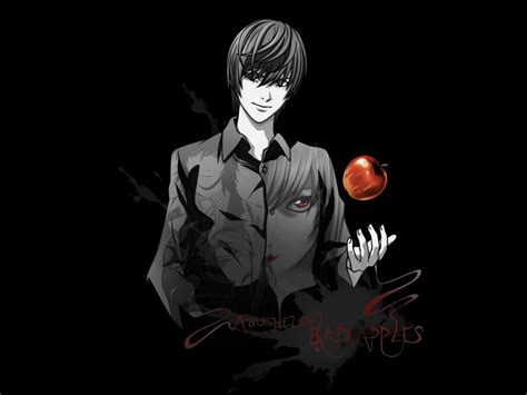light yagami light yagami wallpaper wallpapers note wallpapers