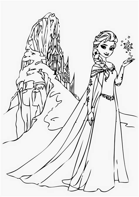 elsa coloring pages pdf disney frozen elsa coloring pages coloring page pictures