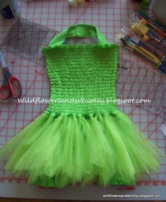 Handmade Tinkerbell Costume - handmade dress up diy tinkerbell costume tutorial