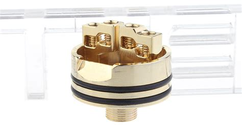 Mad Rda 24mm Gold Plating Authentic Atomizer 20 89 authentic desire mad v2 rda rebuildable atomizer stainless steel
