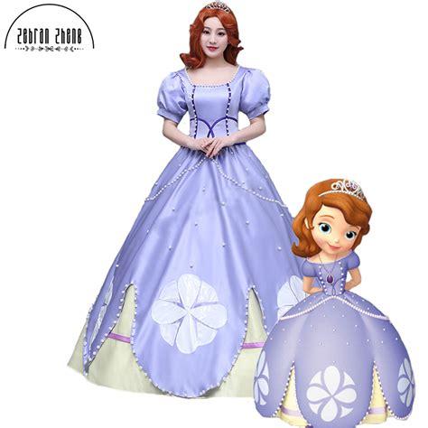 Fantasia Anak Sofia The Set 3 Pieces 2017 new arrival princess sofia costume dress for costume clothes