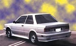 1987 Nissan Altima Nissan Sentra Coup 233 16v 1987