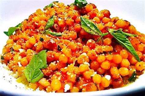 Salad Pasta by Fregola Sarda With Tomato Pecorino And Basil Recipe On