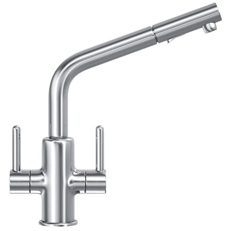Franke Maris Pull Out Spray Kitchen Sink Mixer Tap Chrome