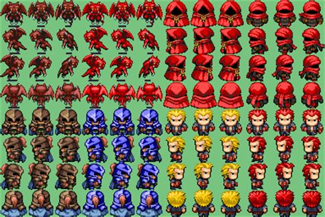 rpg maker templates chars again rpg maker vx resource planet