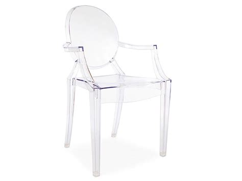 chaise louis ghost chaise louis ghost transparent