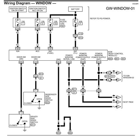 wiring diagram for electric car windows images wiring