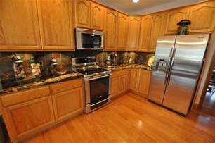 kitchen backsplash and countertop ideas granite countertops and tile backsplash ideas eclectic