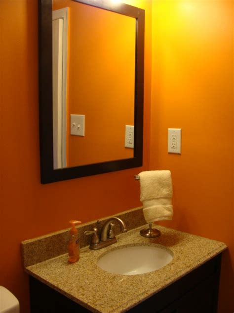 orange bathroom walls 47 best images about guest bath burnt orange brown