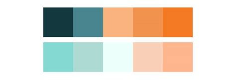 tranquil colors using the psychology of color in web design