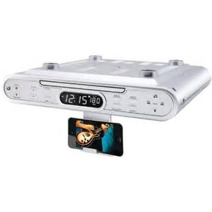 Kitchen Clock Radio Under Cabinet pin by margie o romero on home amp kitchen quot food processor