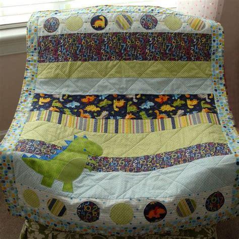 Handmade Baby Quilts Patterns - handmade baby quilt dinosaur quilt babysaurus on