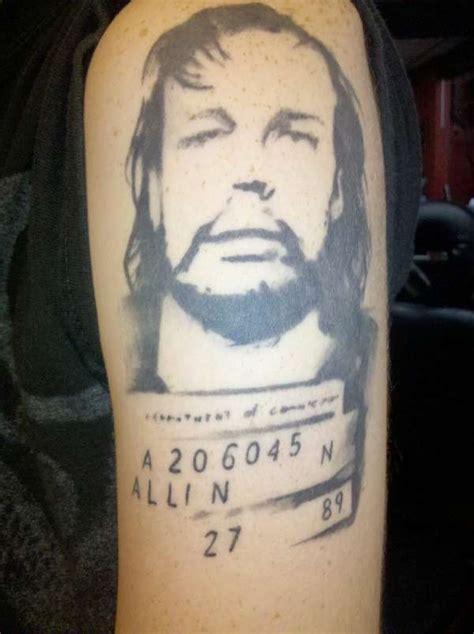 gg allin tattoos gg allin