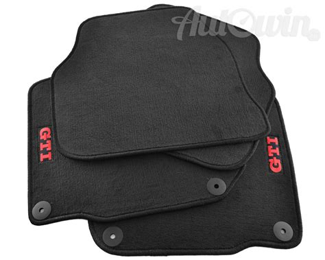 Mats Gti by Floor Mats For Volkswagen Golf V With Gti Emblem And Lhd Side New Ebay