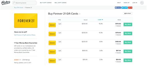 Forever 21 Gift Card Where To Buy - top 10 ways to save money at forever 21 infographic