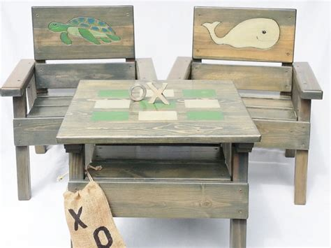 toddler bench table kids nautical table and chair set childrens table chairs