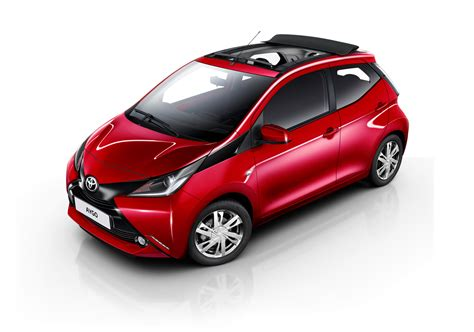 x wave toyota aygo gains x wave canvas roof option