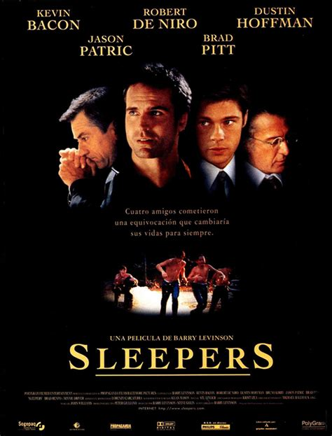 With Robert De Niro And Kevin Bacon Sleepers Barry Levinson Kevin Bacon Robert De Niro