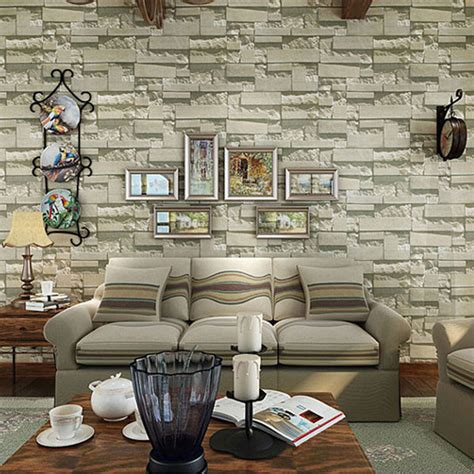 wallpaper for walls stores aliexpress com buy wholesale brick design luxury living