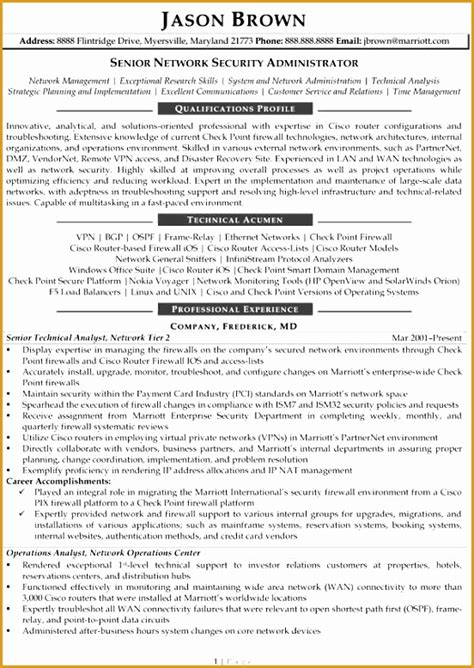 Resume 7 Languages by 7 Information Technology Resume Templates Network