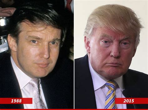 donald trump now donald trump celebs before and after pinterest