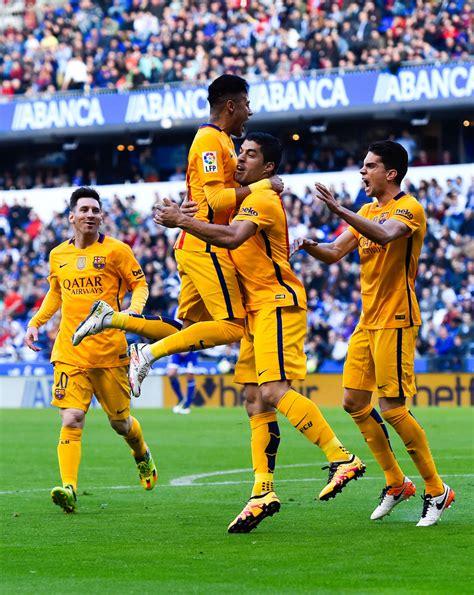 barcelona deportivo rc deportivo la coruna v fc barcelona la liga zimbio