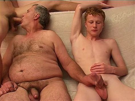 Young gay sex old