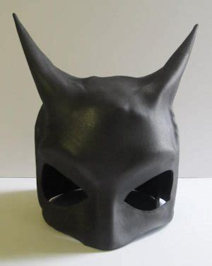 How To Make Paper Batman Mask - how to make a batman mask