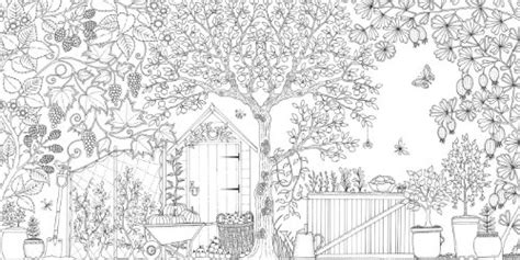 coloring book for adults in dubai secret garden an inky treasure hunt and coloring book in