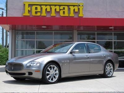 Used Cars Sold By Owners by Purchase Used 2008 Maserati Quattroporte Executive One