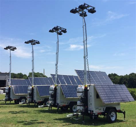 Solar Light Towers Progress Solar Solutions Issued A Patent For Mobile Solar