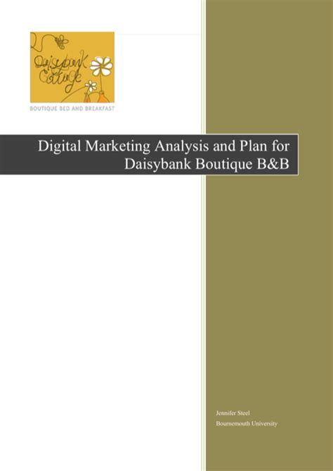 Download Marketing Analysis Templates For Free Formtemplate Digital Marketing Study Template