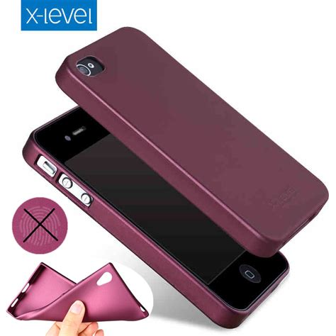X Level Ultra Thin Soft Back Cover Apple Iphone 7 7 Plus Hardcase x level soft matte tpu for apple iphone 4s 4 5 5s se scrub back cover for iphone 6 6s 7
