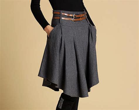 skirt womens skirts skater skirt mini skirt wool skirt