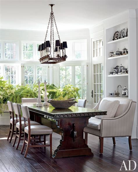 Architectural Digest Dining Rooms dining rooms architectural digest decoration news