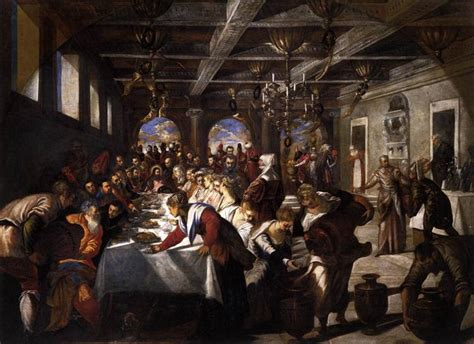 Wedding Feast At Cana Tintoretto by Ordinary Time Catholic In Yanchep