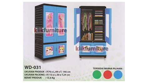Lemari Plastik Merk Orca wd 031 lemari pakaian plastik orca container plastik termurah
