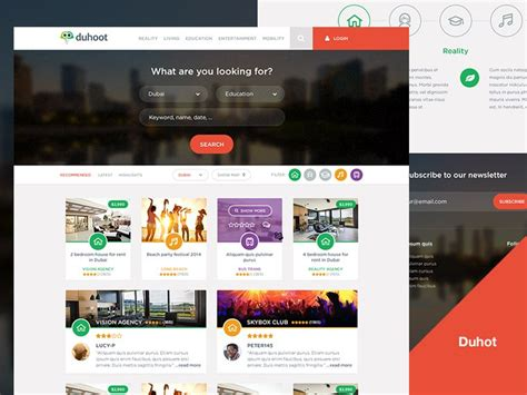 travel portal templates 20 new gorgeous free psd website templates