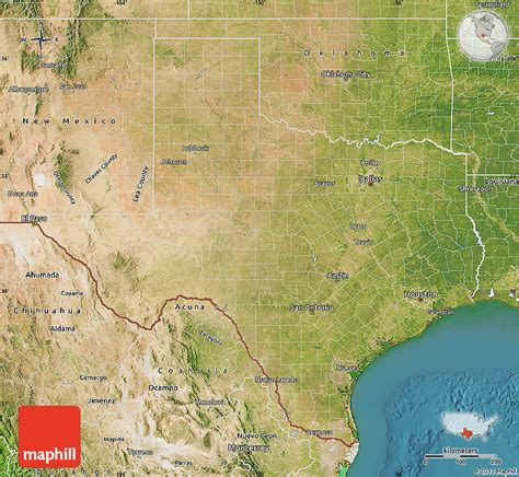 satellite map of texas satellite map of texas
