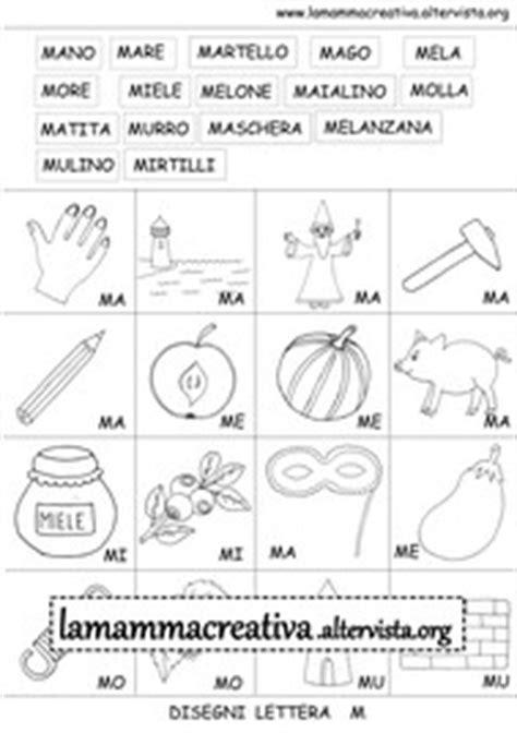 crea parole con lettere disegni per scuola lamammacreativa