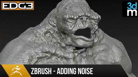 Zbrush Noise Tutorial | zbrush tutorial adding noise to create surface details