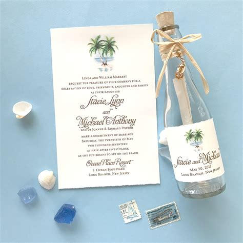 Wedding Invitations In A Bottle by Wedding Invitations Archives Custom Invitations Unique
