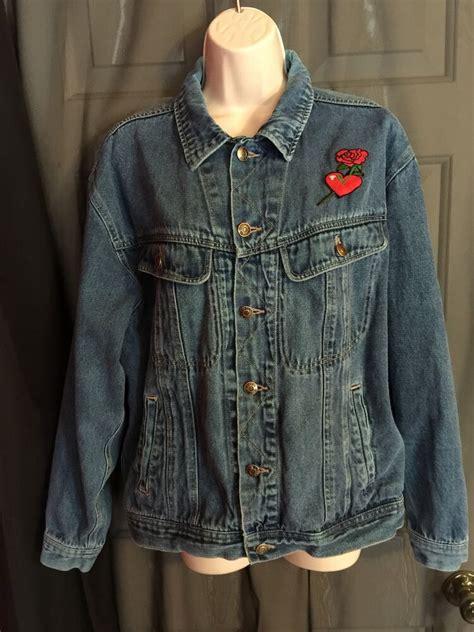 todays news denim jacket size large vintage gift collectible ebay